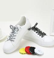 English alphabet shoelaces