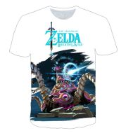 3D game color printed T-shirt