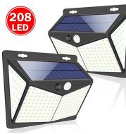 208 Garden Road solar wall lamp