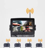 Digital wireless signal driving recorder