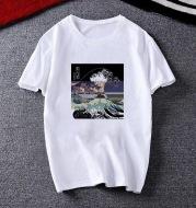 The Great Wave T Shirt Men Hip hop Color