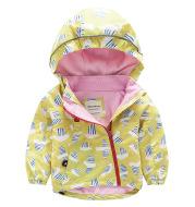 Children's hooded trench coat