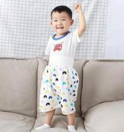 Baby diaper skirt