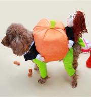 Pet Halloween Pumpkin Decorations for Clothes