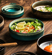 Household ceramic tableware