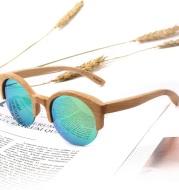 Unisex Oval Lenses Polarized Sunglasses UV400