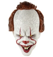 Halloween Stephen King's It Cosplay Mask Pennywise Horror Clown Joker Mask Clown Mask Halloween Cosplay Costume Props
