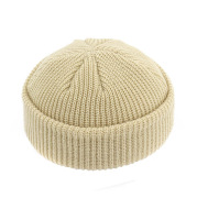 Dome warm short woolen cold hat