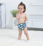 Baby training learning pants baby gauze diaper pants