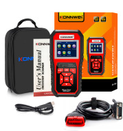 KW850 OBD2 CAN BUS Code Reader car engine fault code detector scanner