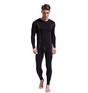 Bamboo fiber thin men's underwear set