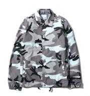 Camouflage thin coat