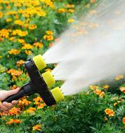 Agriculture Atomizer Nozzles Garden Lawn Water Sprinklers Irrigation Spray Adjustable Nozzle Tool