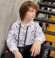 Printed fashion sports children's wear
