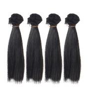 4-piece doll wig