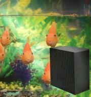 Fish tank filter material