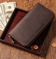New leather men's wallet