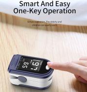 Portable Blood Oxygen Monitor Finger Pulse Oximeter