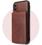 Card wallet leather case phone case