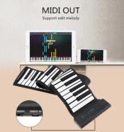Portable Roll Up Piano 88 Keys Pure Musical Instrument Sound