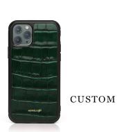 Unique Alligator Grain Leather Case for Iphone
