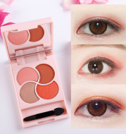Girly four-color eyeshadow