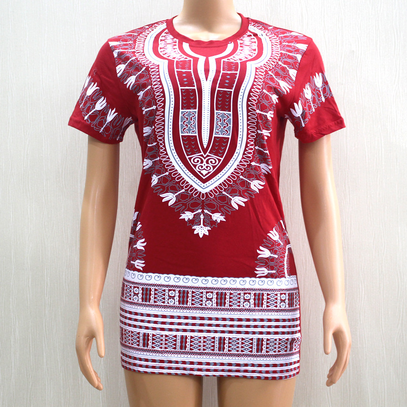 T-shirt Africain style tissu traditionnel