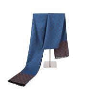 Men's business scarf casual thick cashmere warm scarf