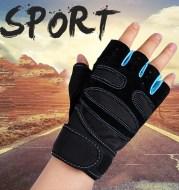 Non-slip wrist gloves