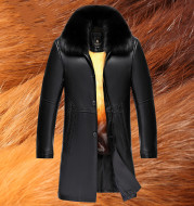 Middle-aged and elderly liner fur coat men
