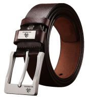 Adjustable belt automatic buckle belt