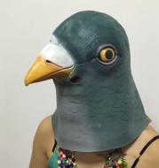 Halloween cute green dove headgear