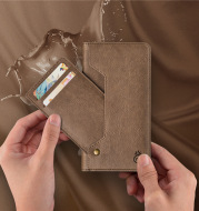 Leather card cover
