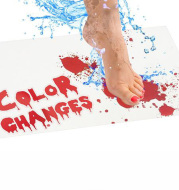 Color Changing Quality Doormat Blood Novelty Bathroom Mat