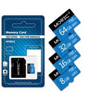 Mobile phone memory card recorder memory card