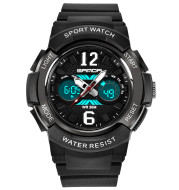 Luminous waterproof alarm clock sports watch