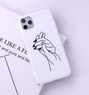 Lovers gesture mobile  case
