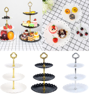 3-layer cake stand snack tray decoration tool