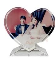 Personalized custom crystal image