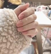 Jelly powder false nails