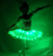 Luminous ballet costume