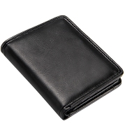 Short Men's Wallets Leather Small
