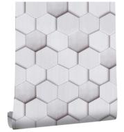 Peel and Stick Geometric Pattern Wallpaper