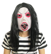 Scary grimace headgear