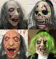 Halloween scary zombie headgear