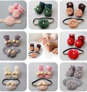 Children's short socks headband accessories