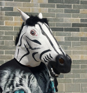 Latex Zebra Headgear