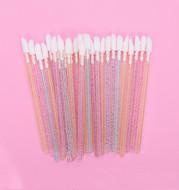 Crystal rod lip brush red brush lip gloss brush