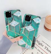 Spliced diamond phone case
