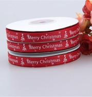 Christmas ribbon 1CM threaded ribbon small roll